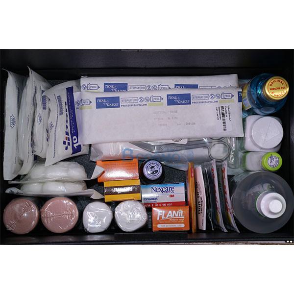 _04 เซ็ตกระเป๋าปฐมพยาบาลใหญ่ พร้อมยา ส่งฟรี