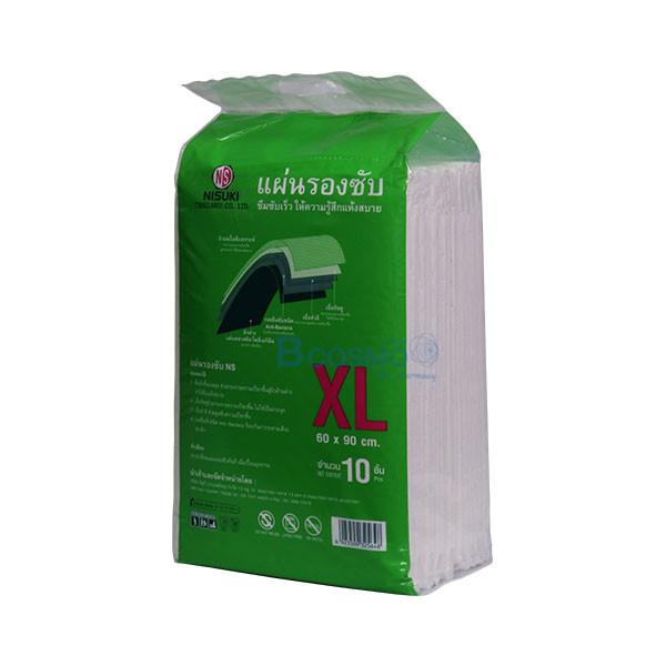 PO0106-XL-แผ่นรองซับ-NISUKI-Size-XL-60×90-10-ชิ้น_02 [12 แพ็ค] แผ่นรองซับ NISUKI Size XL 10 ชิ้น