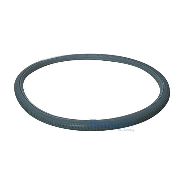 WC9905-G-ยางอะไหล่รถเข็น-24x1-3_8-นิ้ว-สีเทา-1 ยางอะไหล่รถเข็น 24x1 3/8 นิ้ว สีเทา