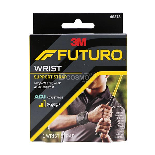 -FUTURO-SPORT-Wrap-Around-Wrist-FREESIZE-ES0106-1 FUTURO SPORT Wrap Around Wrist ฟูทูโร่ พยุงข้อมือ ปรับกระชับได้ FREESIZE