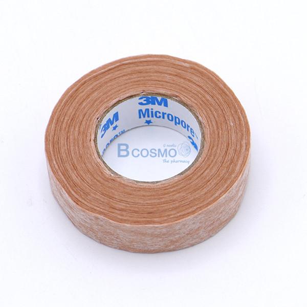 -สีเนื้อ-MICROPORE-SKINTONE-3M-0.5x10-หลา-EF0454-0-4 [กล่อง 24 ม้วน] ไมโครพอร์ สีเนื้อ MICROPORE SKINTONE 3M 0.5'x10 หลา