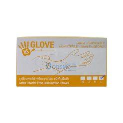ถุงมือตรวจโรค ไม่มีแป้ง NISUKI รุ่นหนา 5.5 g.  SIZE – [ XS-L ]