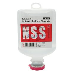 N.S.S. 0.9% 100 ml. ANB INJ.(NO SET)