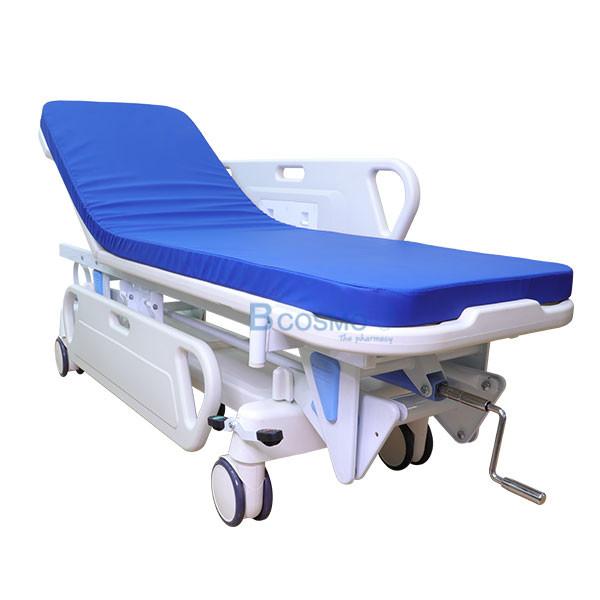 WC1601-รถเข็นเคลื่อนย้ายผู้ป่วย-แบบมือหมุน-1-ไก_2 รถเข็นเคลื่อนย้ายผู้ป่วย แบบมือหมุน 1 ไก