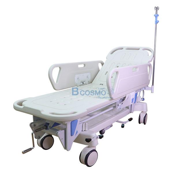 WC1601-รถเข็นเคลื่อนย้ายผู้ป่วย-แบบมือหมุน-1-ไก_3 รถเข็นเคลื่อนย้ายผู้ป่วย แบบมือหมุน 1 ไก