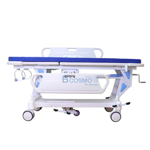 WC1601-รถเข็นเคลื่อนย้ายผู้ป่วย-แบบมือหมุน-1-ไก_4 รถเข็นเคลื่อนย้ายผู้ป่วย แบบมือหมุน 1 ไก