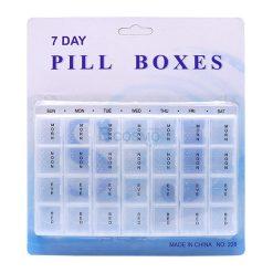 กล่องจัดชุดยา 28 ช่อง