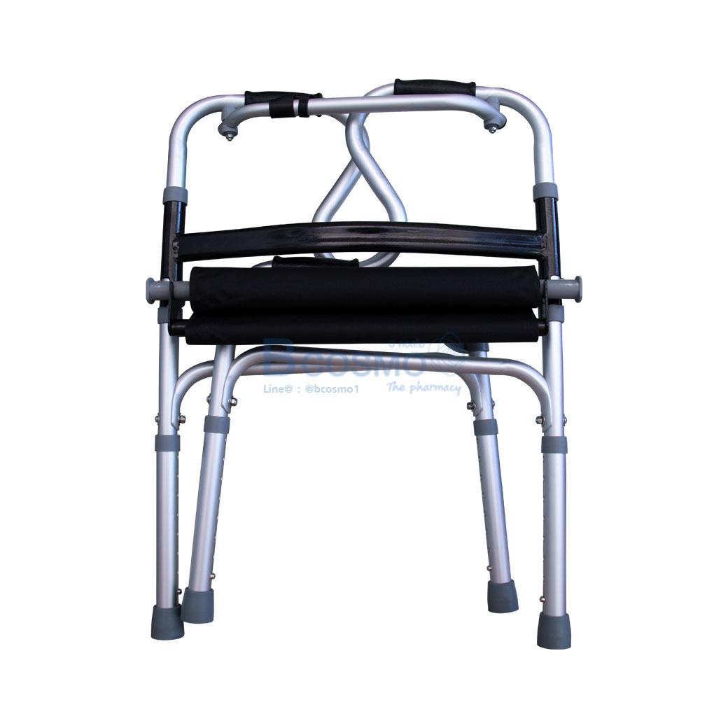 โครงดำ ที่นั่งผ้า WALKER EW0209 B 17