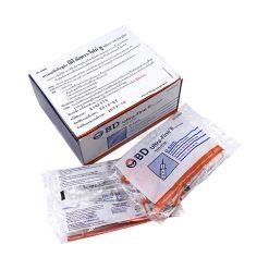 [1ชิ้น] ไซริงค์ SYRINGE INSULIN BD Short Needle 0.5 ml.30 g.x8 mm.