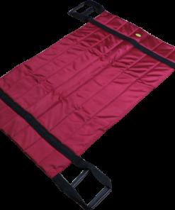 ผ้าประคองตัวผู้ป่วยพับได้ J&X ขนาด 108×67 cm. สีแดง
