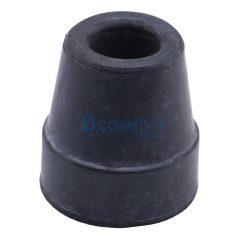 ลูกยางไม้เท้า ไม้ค้ำยัน ขนาด 13 mm. สีดำ