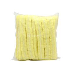 หมวกตัวหนอนสีเหลือง 1 แพ็ค 50 ใบ