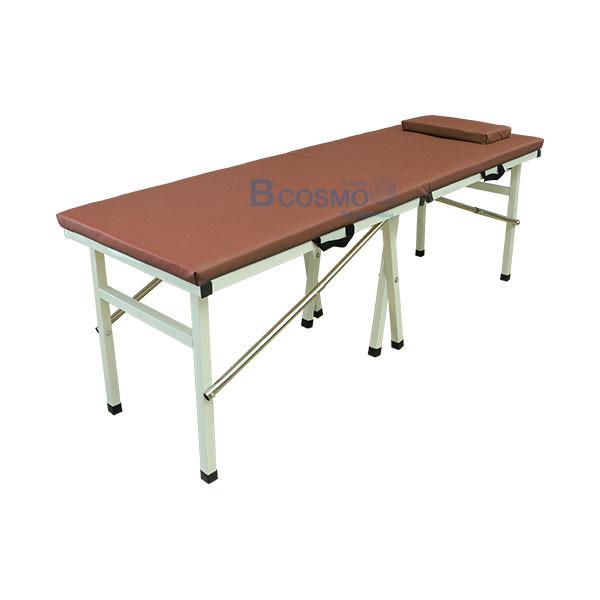 MT0804-BR-เตียงนวดพับได้-เหลี่ยม-สีน้ำตาล-180x60x65-cm_1 เตียงนวดพับได้ (เหลี่ยม) สีน้ำตาล 180x60x65 cm.