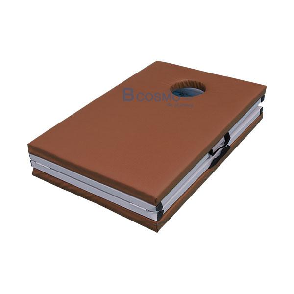 MT0804-BR-เตียงนวดพับได้-เหลี่ยม-สีน้ำตาล-180x60x65-cm_3 เตียงนวดพับได้ (เหลี่ยม) สีน้ำตาล 180x60x65 cm.