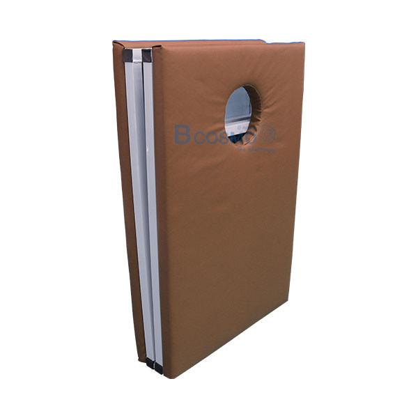 MT0804-BR-เตียงนวดพับได้-เหลี่ยม-สีน้ำตาล-180x60x65-cm_4 เตียงนวดพับได้ (เหลี่ยม) สีน้ำตาล 180x60x65 cm.