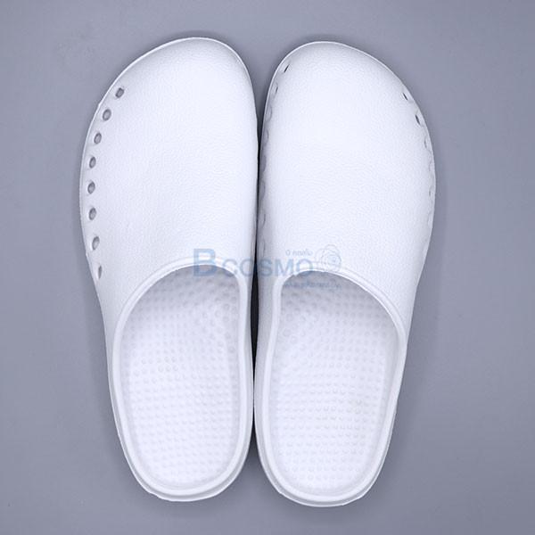 -BAOTOU-Size-35-36-สีขาวพื้นขาว-CN-MT0213-XS-WH-3 รองเท้าโรงพยาบาลกันลื่น BAOTOU สีขาวพื้นขาว