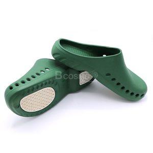 -BAOTOU-Size-39-40-สีเขียวพื้นขาว-CN-MT0213-M-GR-3-300x300 รองเท้าโรงพยาบาลกันลื่น BAOTOU  สีเขียวพื้นขาว