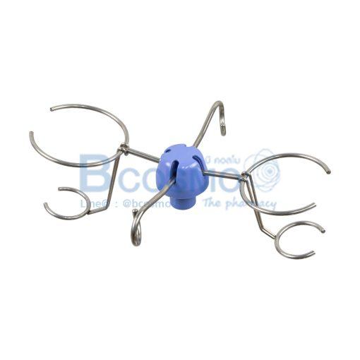 4 แฉก 16 mm. สีฟ้า C EB0195 16 2