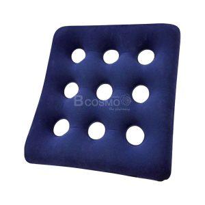 -Flocking-Air-Cushion-43x43-cm-300x300 เบาะลมรองนั่งสี่เหลี่ยม Flocking Air Cushion 43x43 cm. สีน้ำเงิน