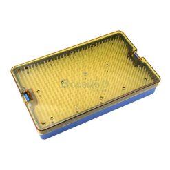 กล่องใส่เครื่องมือ นึ่งฆ่าเชื้อ เครื่องมือแพทย์ 263x162x50 mm.