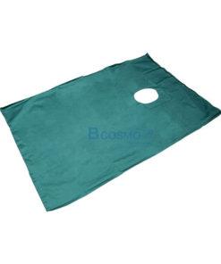 ผ้าคลุมผ่าตัดเจาะรู 150 x 90 cm