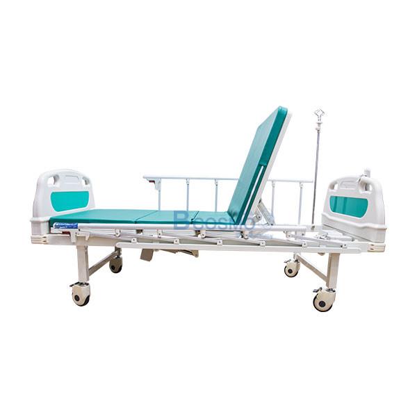 PB0109-GR-เตียงผู้ป่วยไฟฟ้า-2-ไก-YYY-B01AB01PB-หัวท้าย-ABS-ราวสไลด์สูง-พร้อมเบาะนอน-4-ตอน-4 เตียงผู้ป่วยไฟฟ้า 2 ไก หัวท้าย ABS ราวสไลด์สูง พร้อมเบาะนอน 4 ตอน