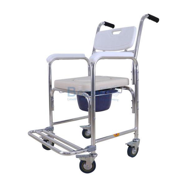 -Y614L-สีขาว-ET0101-WH-4-1 เก้าอี้นั่งถ่ายเบาะนิ่มขาว-Y614L-สีขาว