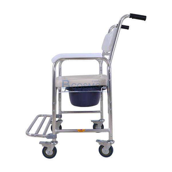-Y614L-สีขาว-ET0101-WH-6 เก้าอี้นั่งถ่ายเบาะนิ่มขาว-Y614L-สีขาว