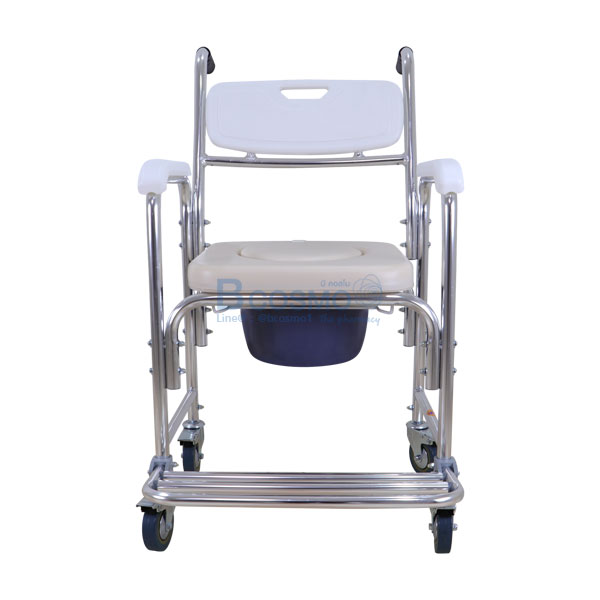 -Y614L-สีขาว-ET0101-WH-8 เก้าอี้นั่งถ่ายเบาะนิ่มขาว-Y614L-สีขาว