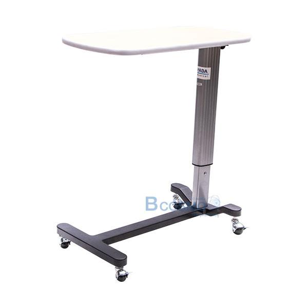 โต๊ะคร่อมเตียง หน้าไม้โฟเมก้า ลายไม้ GK-970