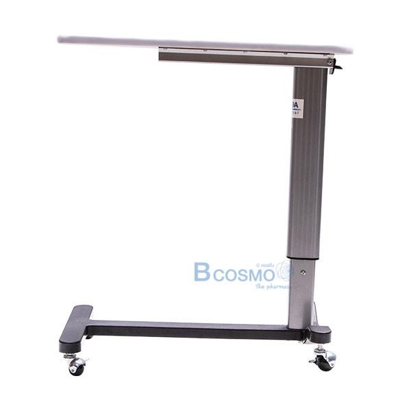 EB0012-โต๊ะคร่อมเตียง-หน้าไม้โฟเมก้า-ลายไม้-GK-9702 โต๊ะคร่อมเตียง หน้าไม้โฟเมก้า ลายไม้ GK-970