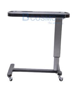 โต๊ะคร่อมเตียง หน้า PVC สีดำ GK-971