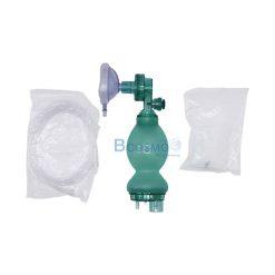 อุปกรณ์ช่วยหายใจมือบีบทารกแรกเกิด Compower y-1 Ambu Bag PVC สีเขียว (C)