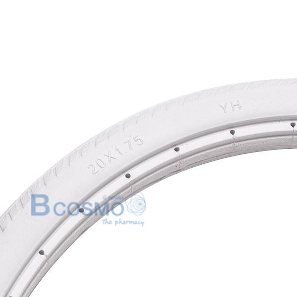 WC9905-20-G-ยางอะไหล่รถเข็น-20x1.75-นิ้ว-สีเทา-2 ยางอะไหล่รถเข็น 20x1.75 นิ้ว สีเทา
