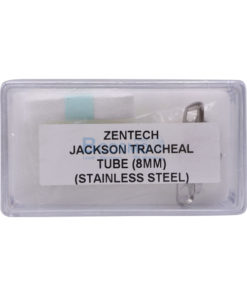 ท่อเจาะคอโลหะ Tracheotomy Tube Stainless No. – [4 mm.|5 mm.|6 mm.|7 mm.|8 mm.|9 mm. |10 mm.|11 mm.|12 mm.|13 mm]