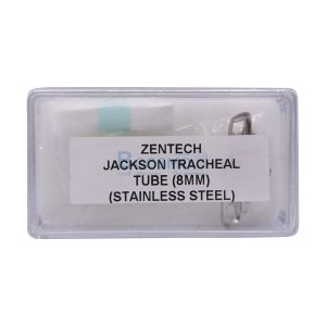 ท่อเจาะคอโลหะ Tracheotomy Tube Stainless No. – [4 mm. 5 mm. 6 mm. 7 mm. 8 mm. 9 mm.  10 mm. 11 mm. 12 mm. 13 mm]