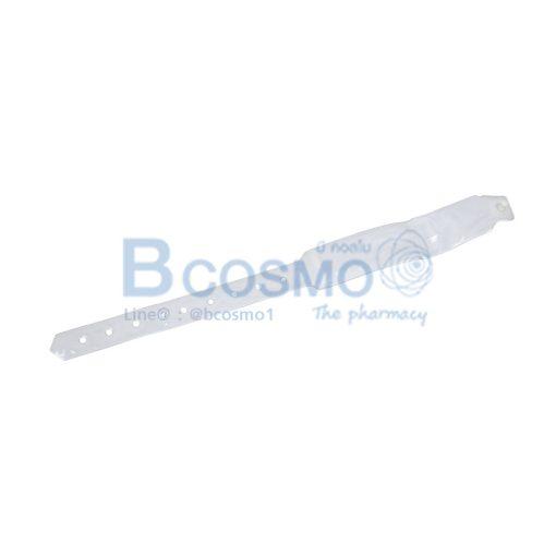 สายรัดข้อมือผู้ใหญ่ สีขาวใส MT0413 A WH4