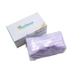 [1 กล่อง 50 ชิ้น] หน้ากากอนามัย 3 ชั้น OREX MEDIMASK สี – [สีชมพู | สีขาว | สีม่วง | สีฟ้า | สีเขียว ]
