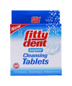 เม็ดฟู่ล้างฟันปลอม FITTY DENT [12-32] Tabs