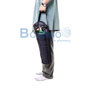 กระเป๋าใส่ท่อออกซิเจนอลูมิเนียม INVACARE 0.5 คิว