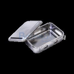 กล่องนึ่งเครื่องมือแพทย์มีฝา 5.5×3.5×1.9 นิ้ว (C)