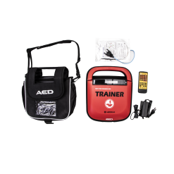 เครื่องกระตุกหัวใจไฟฟ้าสำหรับการฝึกช่วยชีวิต AED Mediana T15