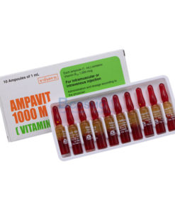 AMPAVIT 1000 MCG. 1 ml.x10 amp.