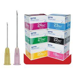 เข็มฉีดยา NIPRO ทั้งหมด เบอร์ 18 ถึง 27