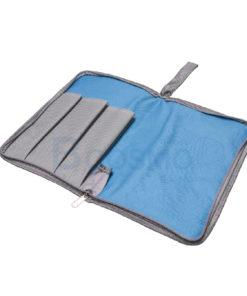 กระเป๋าใส่โมลด์ 3 ชิ้น BCOSMO สีฟ้า