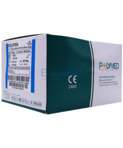 [1 กล่อง 50 ชิ้น] I.V.CATHETER POLYMED 22G/25mm.
