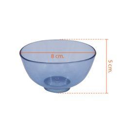 ชามยางคละสี ขนาด – [ 50×80 mm. | 55×100 mm. |  70×110 mm. ]
