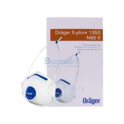 [1 กล่อง 10 ชิ้น] หน้ากากอนามัย X-PLORE 1350 N95V กันฝุ่นละออง