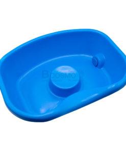 อ่างพลาสติกสระผมผู้ป่วย สีฟ้า ไม่มีของแถม
