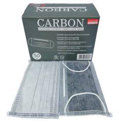 [1 กล่อง 50 ชิ้น] หน้ากากอนามัยคาร์บอน CARBON 50's